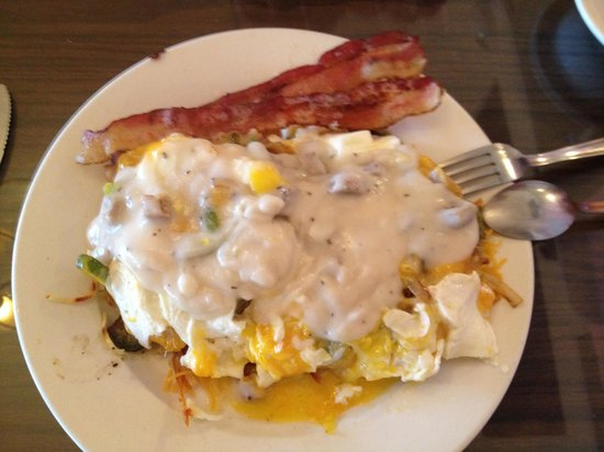Flamingo Hometown Cafe: The Country Mess! Yum!!