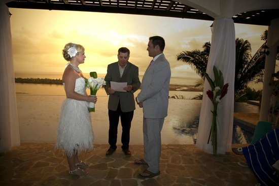 El Castillo Hotel : Look at the view! Perfect Wedding