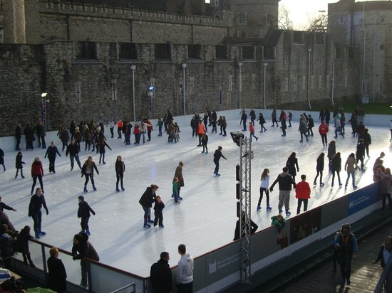 The Bermondsey Square Hotel: Skating at the Tower