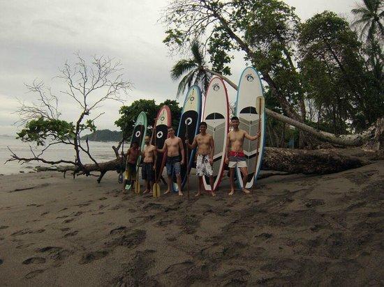 Tortuga Surf School: Paddleboarding adventure