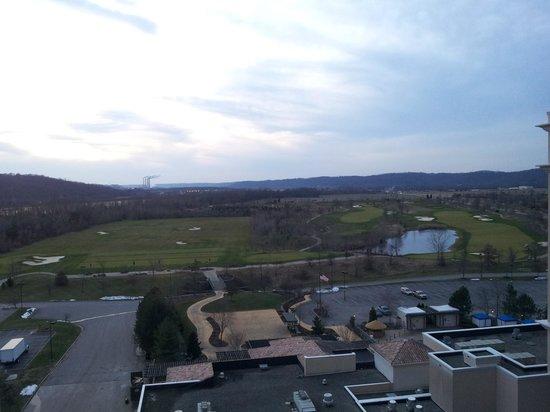 Belterra Casino Resort: View from window.