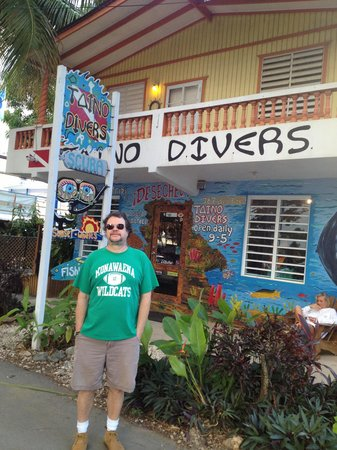 Taino Divers: Outside the dive shop