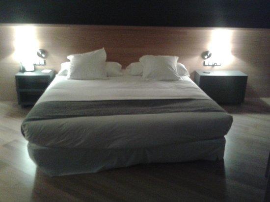 Hotel Mon Sant Benet : Cama king
