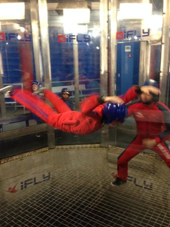 iFLY Indoor Skydiving - Orlando: Flying!!