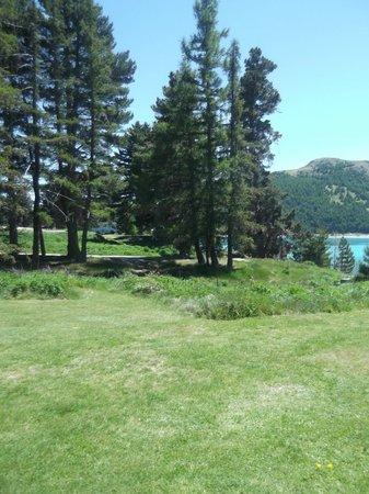 YHA Lake Tekapo: view from room