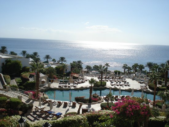 Hyatt Regency Sharm El Sheikh Resort: view from restaurant while having breakfast!