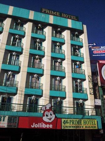 Benguet Prime Hotel Facade