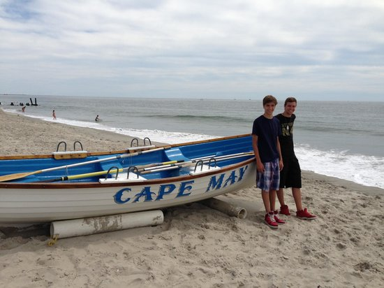 Cape May City Beaches: Summertime fun.