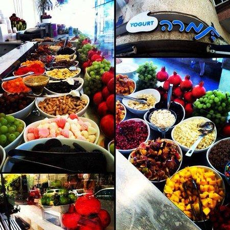 Tamara Yogurt: Toppings vary from season to season