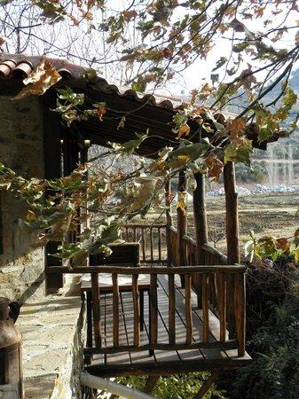 StoneHouse ByIpek FarmHouse: Our Balcony