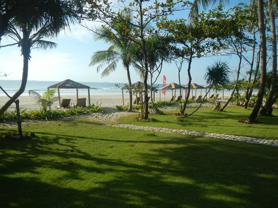 The Palm Beach Resort: View from Room