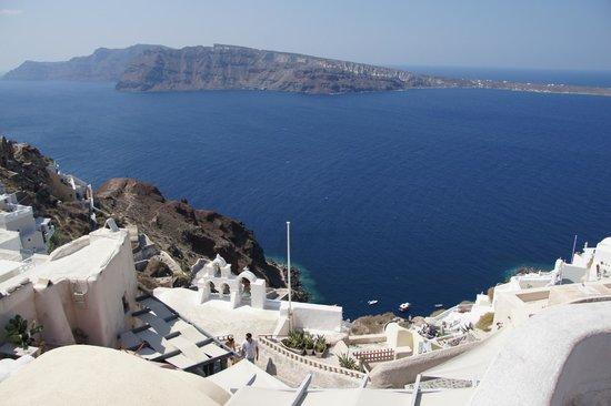 Fodhele, Greece: Санторини просто море