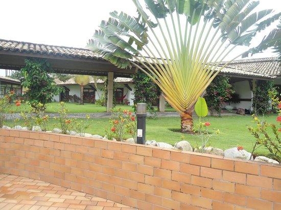Vela Branca Grand Hotel: jardim