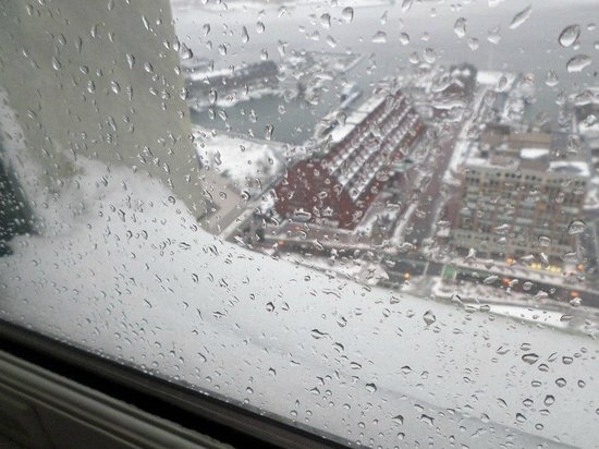 Marriott Vacation Club Pulse at Custom House, Boston: More during the snow-while we were snug in our room