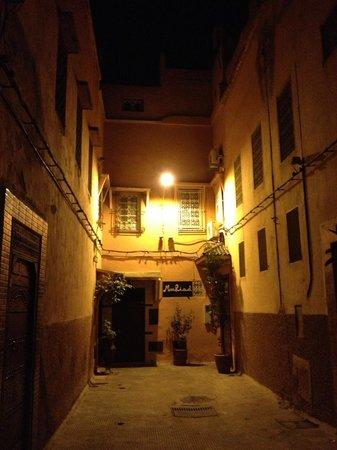 MonRiad : Entrada do hotel