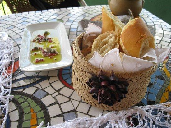 Hotel Canto das Aguas: restaurante do hotel - entrada de almoço