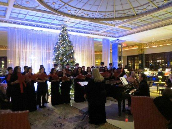 InterContinental New York Barclay : Concierto de Navidad en el hall