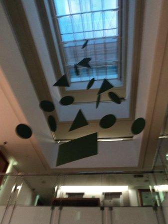 Verdegreen Hotel: Decoração do hall