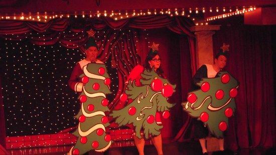 Sweet Fanny Adams Theatre: Singing Christmas Trees