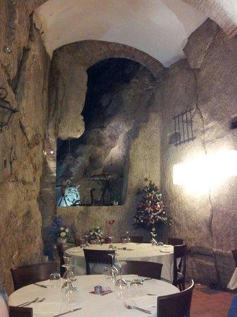Ristorante La Grotta: Coreografia stupenda