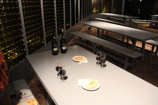 Ferreira Cellars : sala de degustação (hummmm!)