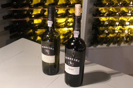Ferreira Cellars : vinhos degustados!