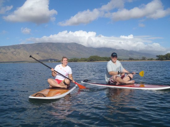 Maria Souza's Stand Up Paddle School: SUP FUN!