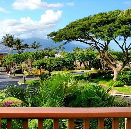 Maui Kamaole: View from B212 (Partial Ocean View)