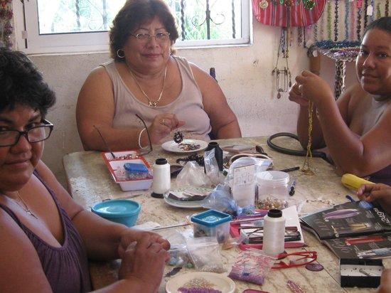 Isla Mujeres Palace: Women's Bead Cooperative