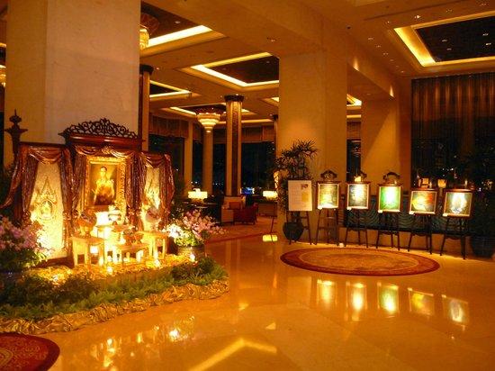 Shangri-La Hotel,Bangkok : Lobby