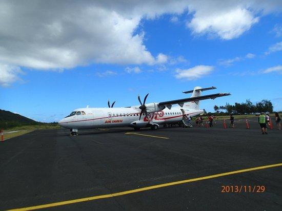 InterContinental Bora Bora Le Moana Resort: Air Tahiti