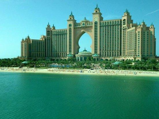 Atlantis, The Palm: Hotel-Anlage mit Strand ;)