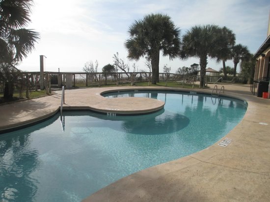 Island Vista: One of the outdoor pools