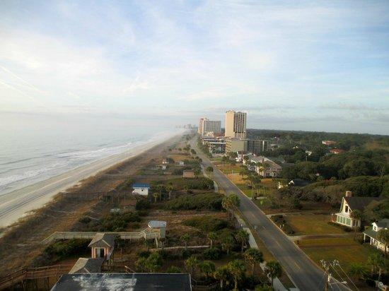 Island Vista: View from Room 1000 Balcony