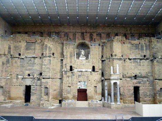 Roman Theatre of Orange: Theatre stage
