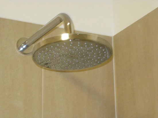 Cabra Castle Hotel : Rain Shower Head