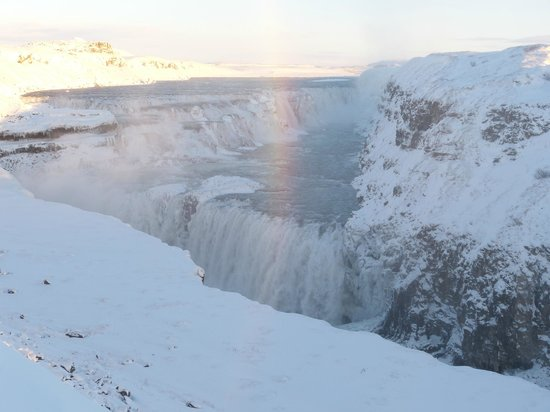 Hotel Ranga : Gullfoss, a very large waterfall about 30 miles away from the hotel.