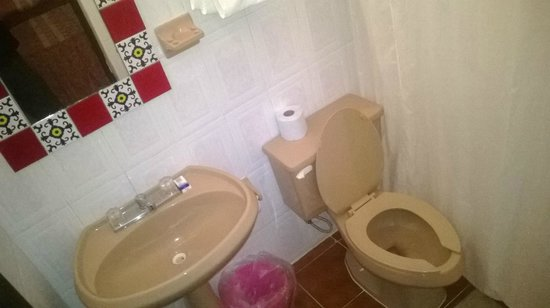 Hotel Dolores Alba Chichen: baño basico
