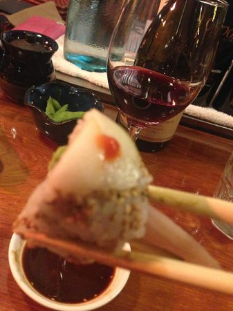 Treebones Resort: Sushi