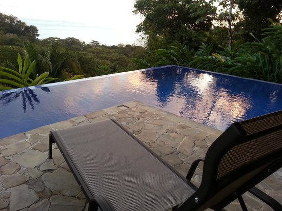 TikiVillas Rainforest Lodge & Spa: the pool view