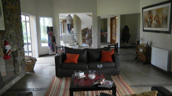 Villa Mansa Wine Hotel & Spa : The great room
