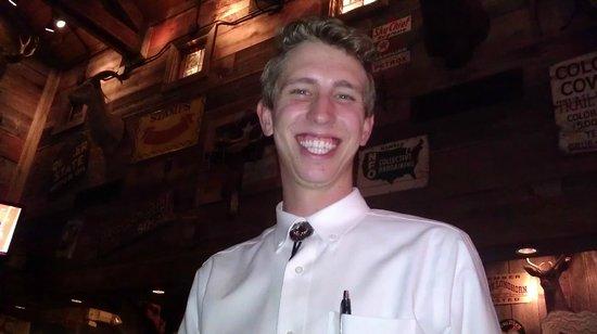 Saltgrass Steak House: Jason, our wonderful waiter.