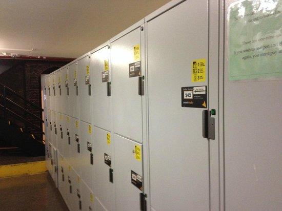 Hostelling International - New York: Locker Storage in Basement- One Time Entry