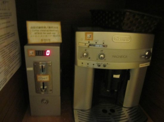 KT Star : they have a self serve coffee for $200 nt in the lobby