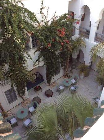 Riad Idra : il patio