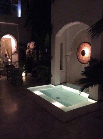 Riad Idra : la fontana