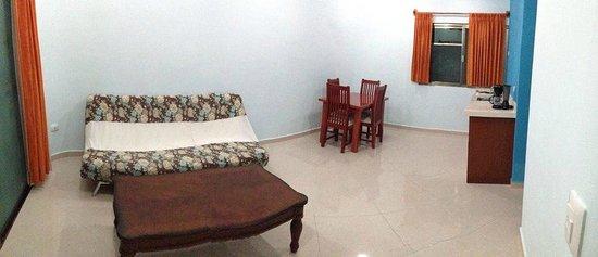 Hotel San Miguel: Viste de la pequeña cocina de una Jr. Suite