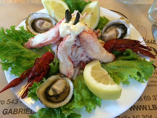 Fogon  Las Buenas Brasas: Seafood Platter