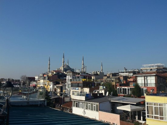Gul Sultan Hotel: view from roof