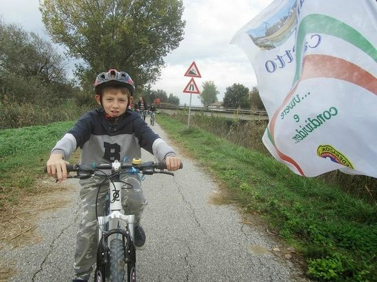 Terra Dei Santi Country House: piccolo-grande Ciclista